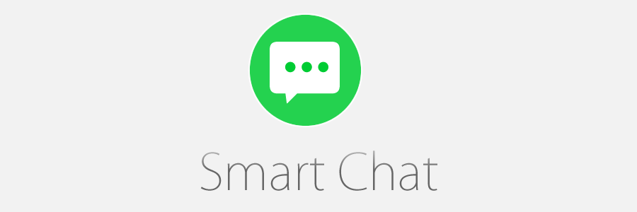 Smart connected chat